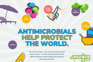 Antimicrobials Help Save the World.